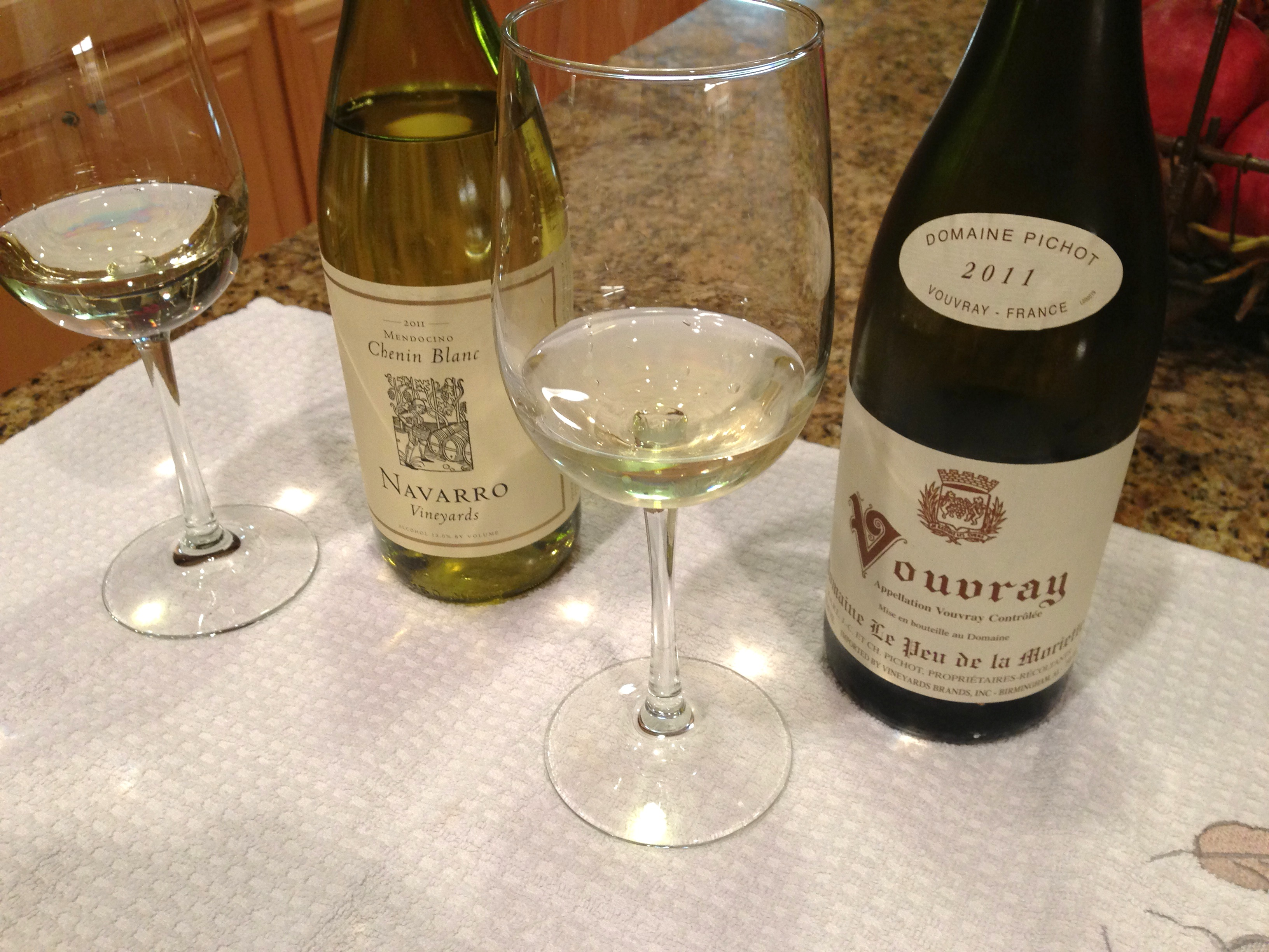 Two Chenin Blancs