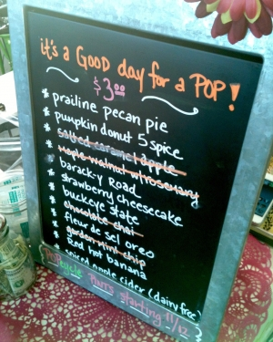 POPcycle Menu