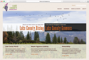 Lake County Winegrape Commission website